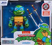"""Teenage Mutant Ninja Turtles - Leonardo 4"""" Scale Metals Die-Cast Figure"""