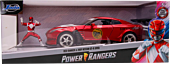 Power Rangers - Red Ranger with 2009 Nissan GT-R R35 1/24th Scale Hollywood Rides Die-Cast Vehicle Replica