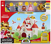 Super Mario - Mushroom Kingdom Castle Deluxe Playset