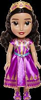 "Aladdin (2019) - Princess Jasmine in Purple Dress 15"" Toddler Doll"