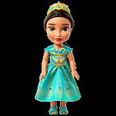 "Aladdin (2019) - Princess Jasmine in Teal Dress 15"" Toddler Doll | Popcultcha"
