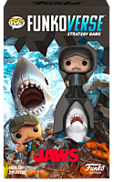 Jaws - Quint & Great White Shark Pop! Funkoverse Strategy Game 2-Pack.