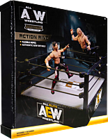 AEW: All Elite Wrestling - Medium Wrestling Ring Unrivaled Collection Action Figure Playset