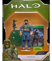"Halo - The Pilot with Bulldog Shotgun 3.75"" Action Figure"