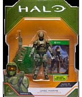 "Halo - UNSC Marine with Commando Rifle 3.75"" Action Figure"