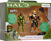 """Halo - Master Chief & Brute Chieftan Heroes vs. Villains 3.75"""" Action Figure 2-Pack"""