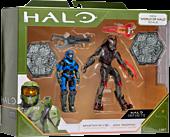 "Halo - Spartan MK V(B) & Jega 'Rdomnai Heroes vs. Villains 3.75"" Action Figure 2-Pack"