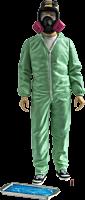 "Breaking Bad - Jesse Pinkman Blue Hazmat Suit Exclusive 6"" Action Figure"