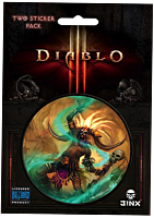 Diablo 3 - Witch Doctor Class Sticker