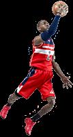 NBA Basketball - John Wall 1/9 Scale Enterbay Action Figure Main Image