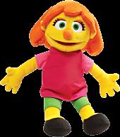 "Sesame Street - Julia 14"" Plush   Popcultcha   Cultcha Kids"