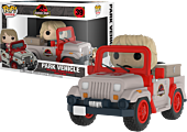 Jurassic Park - Dr Ellie Sattler in Park Vehicle Funko Pop! Rides Vinyl Figure
