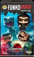 Jurassic Park - Ian Malcolm & Tyrannosaurus Rex Pop! Funkoverse Strategy Game 2-Pack