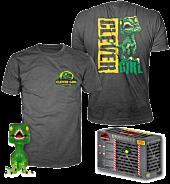Jurassic Park - Clever Girl Velociraptor Green Translucent Funko Pop! Vinyl Figure & T-Shirt Box Set