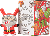 "Dunny - Chunky Holiday Santa 3"" Vinyl Figure by Alex Solis"