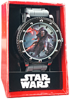 Kylo Ren Grey Silicone Strap Watch