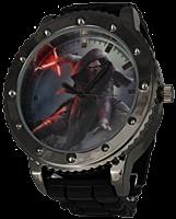 Kylo Ren Black Silicone Strap Watch