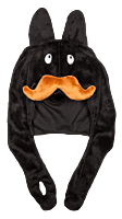 Stache Labbit Plush Hat Black