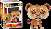 The Lion King (2019) - Simba Flocked Funko Pop! Vinyl Figure.
