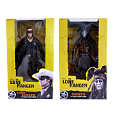 The Lone Ranger - Lone Ranger & Tonto 1/4 Scale Action Figure Assortment (Set of 2)