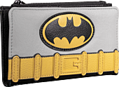 LOUDCCWA0027-Batman-Vintage-Cosplay-6-inch-Faux-Leather-Flap-Wallet-Popcultcha