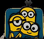 """Minions - Triple Minion Bello 5"""" Faux Leather Zip-Around Wallet"""