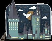 "Harry Potter - Hogwarts Castle 5"" Faux Leather Zip-Around Wallet"