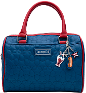 """Loungefly - Americana Quilted 10"""" Faux Leather Crossbody Bag"""