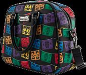"""Loungefly - Dia De Los Muertos Papel Picado 10"""" Faux Leather Crossbody Bag"""
