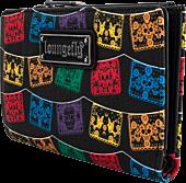 """Loungefly - Dia De Los Muertos Papel Picado 6"""" Faux Leather Flap Wallet"""