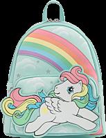 "My Little Pony - Starshine Rainbow 10"" Faux Leather Mini Backpack"