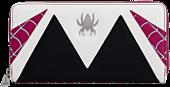 """Spider-Man - Spider-Gwen Cosplay 8"""" Faux Leather Zip-Around Wallet"""