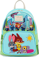 """Zootopia - Chibi Group 10"""" Faux Leather Mini Backpack"""