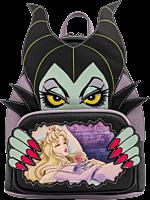 "Sleeping Beauty (1959) - Maleficent & Aurora 10"" Faux Leather Mini Backpack"