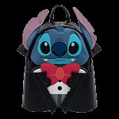 "Lilo & Stitch - Vampire Stitch Cosplay 10"" Faux Leather Mini Backpack"