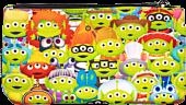 """Pixar - Alien Remix Outfits Print 8"""" Pencil Case"""