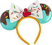Mickey Mouse - Minnie Mouse Sweet Treats Faux Leather Headband