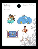 Aladdin - Enamel Pin 4-Pack