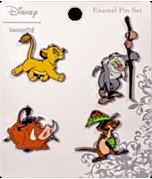 The Lion King - Enamel Pin 4-Pack