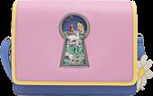 "Alice in Wonderland (1951) - Keyhole 10"" Faux Leather Crossbody Bag"