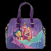 "Disney Princess - Ariel Castle 11"" Faux Leather Crossbody Bag"
