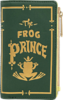 """The Princess and the Frog - The Frog Prince 6"""" Faux Leather Flap Wallet"""