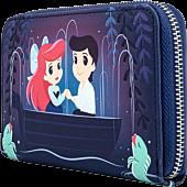 "The Little Mermaid (1989) - Gondola Scene 6"" Faux Leather Zip-Around Wallet"