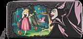 "Sleeping Beauty (1959) - Maleficent & Aurora 8"" Faux Leather Zip-Around Wallet"