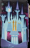 "Cinderella (1950) - Cinderella Castle 6"" Faux Leather Flap Wallet"