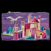 """Disney Princess - Ariel Castle 6"""" Faux Leather Flap Wallet"""