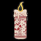 "Hocus Pocus - Binx Candle 6"" Faux Leather Cardholder"