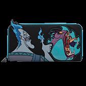 """Disney Villains - Hades Scene 4"""" Faux Leather Zip-Around Wallet"""