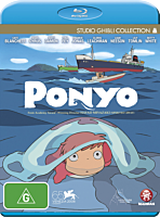Ponyo - The Movie Blu-Ray