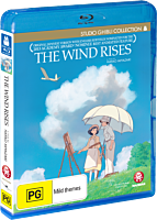 The Wind Rises - The Movie Blu-Ray